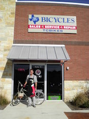 Tri-city Bicycles store front